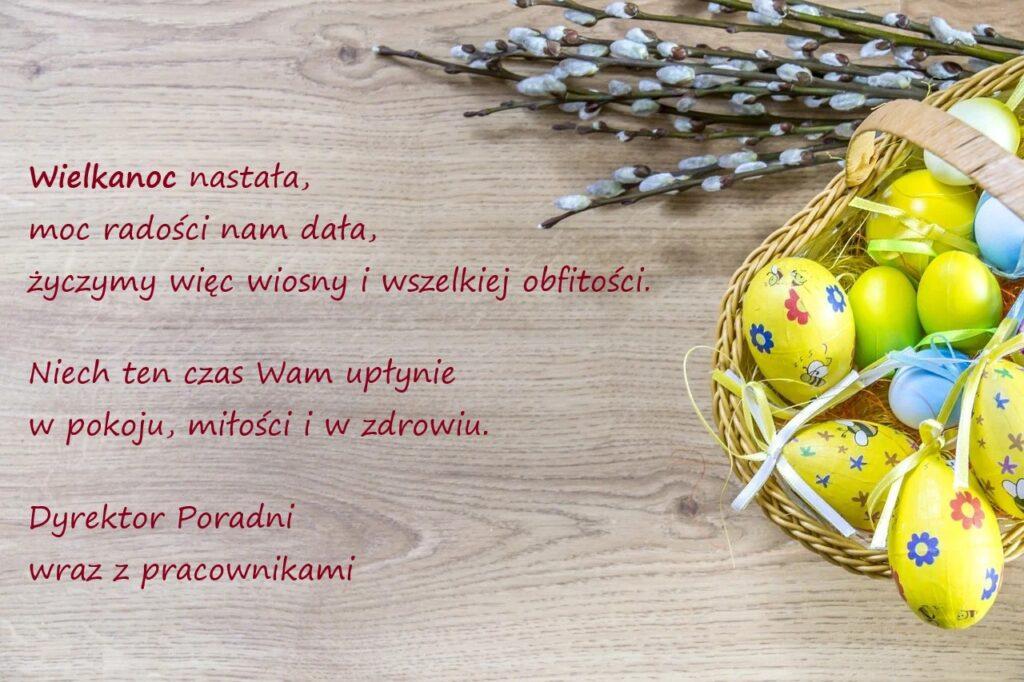 Życzenia świąteczne odDyrekcji ipracowników Poradni
